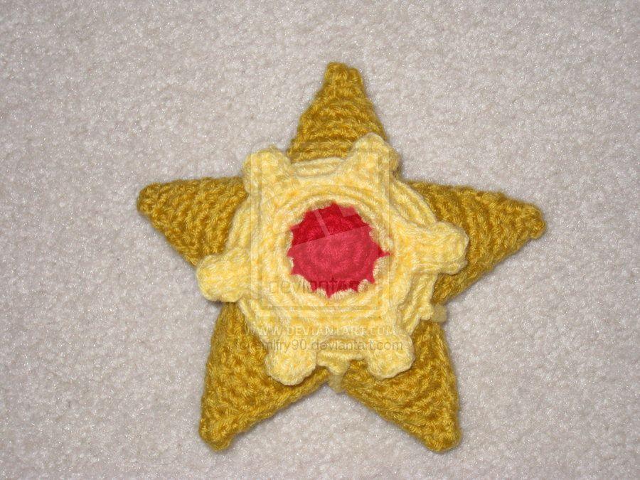 Pokédex # 120 Staryu #pokemon #amigurumi   Crochet   Pinterest   Tejido