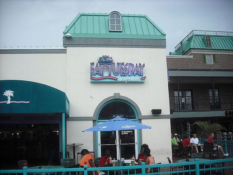 Fat Tuesday Myrtle Beach Broadway At The