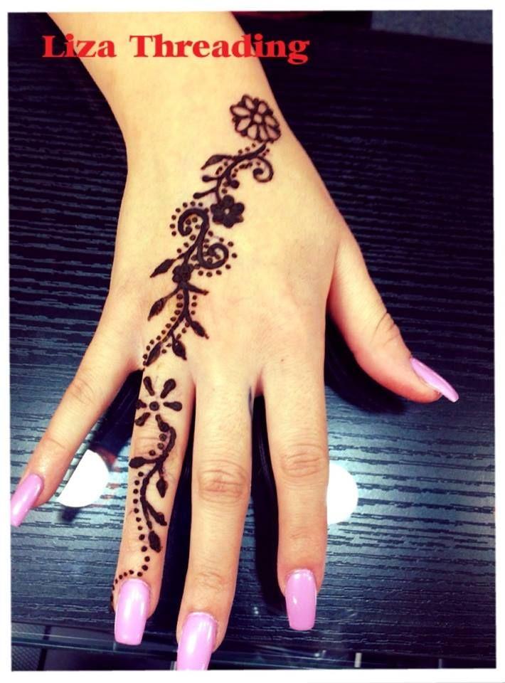 Henna Tattoo Liza Threading Eyebrow Threading In Oxnard