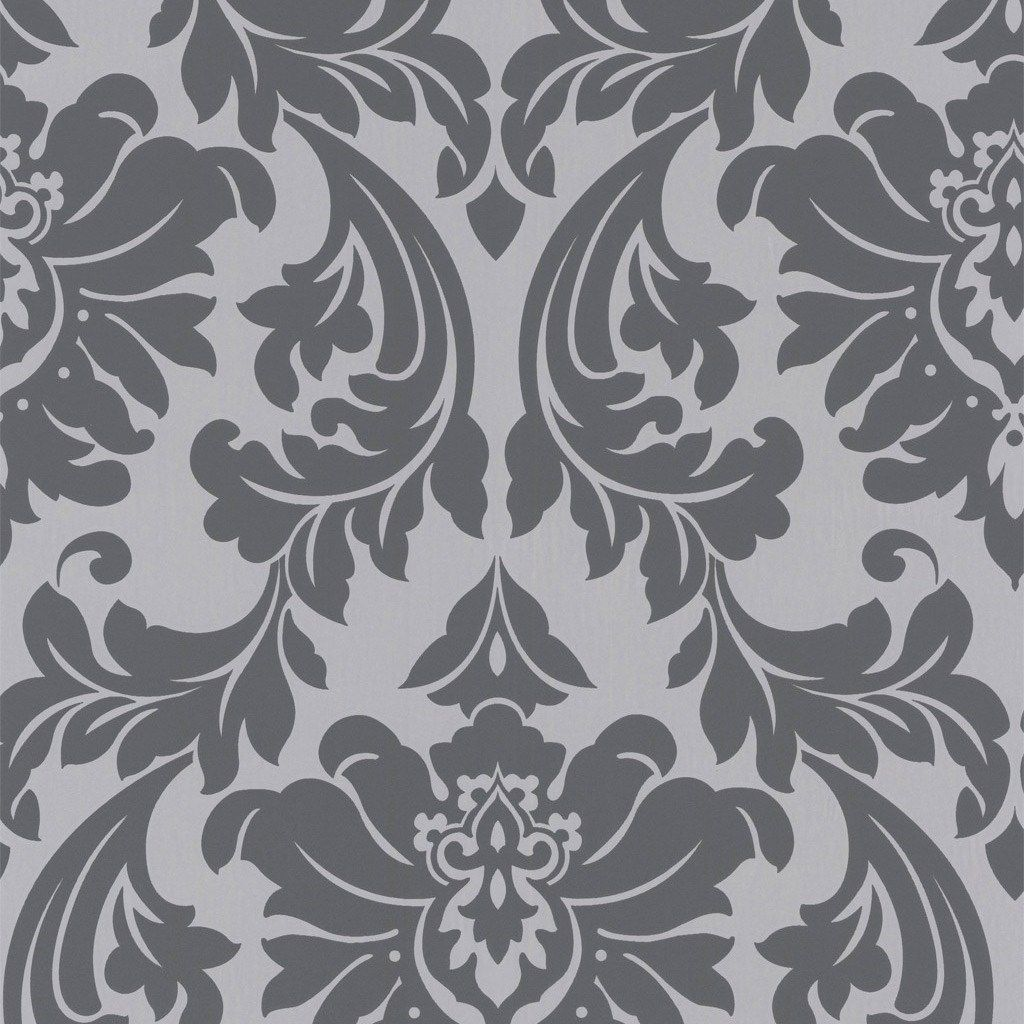 Graham & Brown Superfresco Easy Majestic Gray Wallpaper.