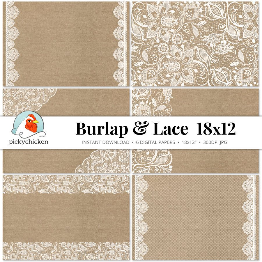 Horrible Burlap Lace Digital Paper Rustic Printable Placemat Weddingcountry Shabby Photography Backdrop Burlap Lace Digital Paper Rustic Printable Placemat