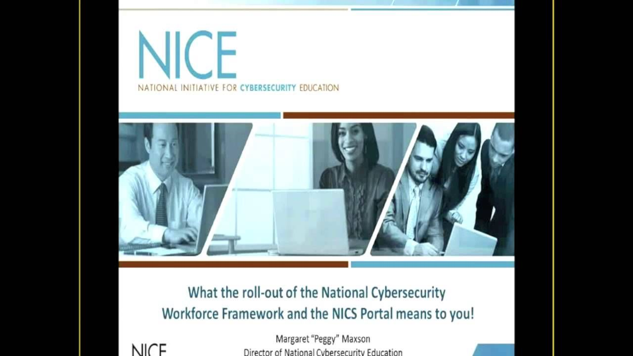 Winter 2013 ICT Educator Conference - Cybersecurity Track Intro & NICE F...