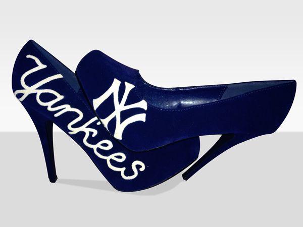 New York Yankees Pumps New York Yankees New York Yankees