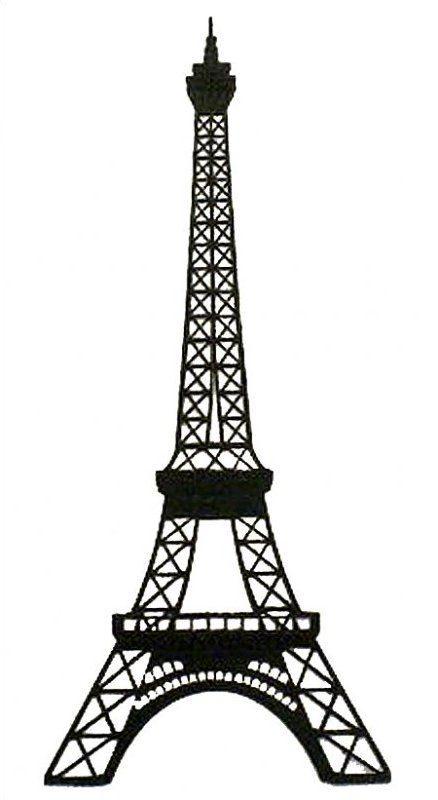 Line Drawing Eiffel Tower : Paris collage eiffel tower pages pinterest