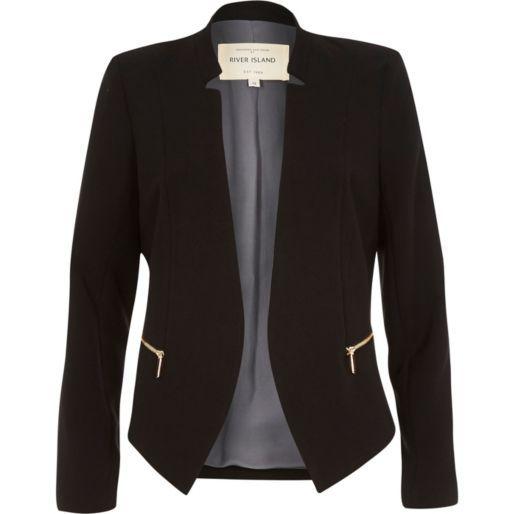X-Future Womens Lapel 3//4 Sleeve 1 Button Dress Blazer Jacket Suit Coat