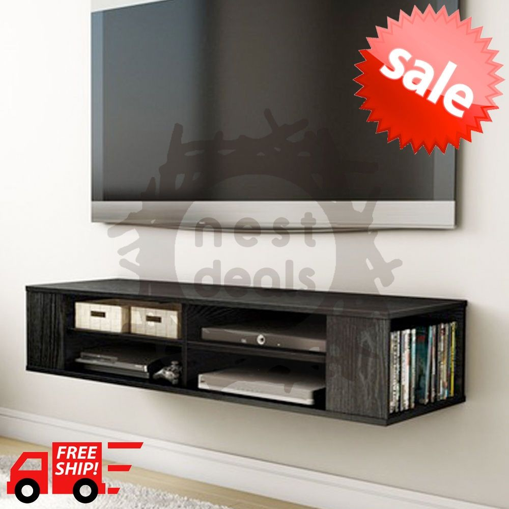 cheaper 29d30 995c3 Wall Mounted Entertainment Shelf | cool ideas ...