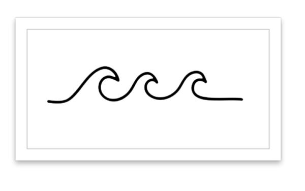 5aa60cd21 Wave | Tattoo} | Tattoos, Waves, Angel devil tattoo