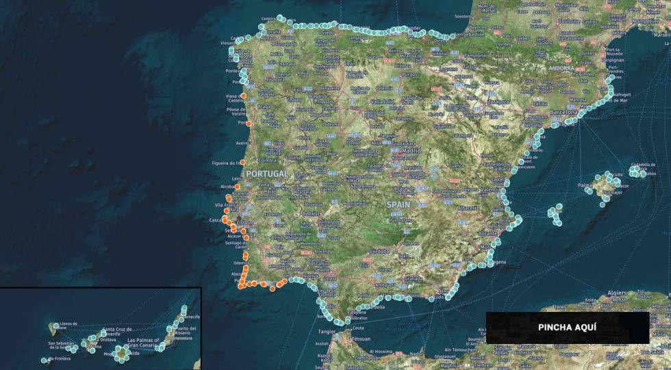 las 400 mejores playas de espana y portugal