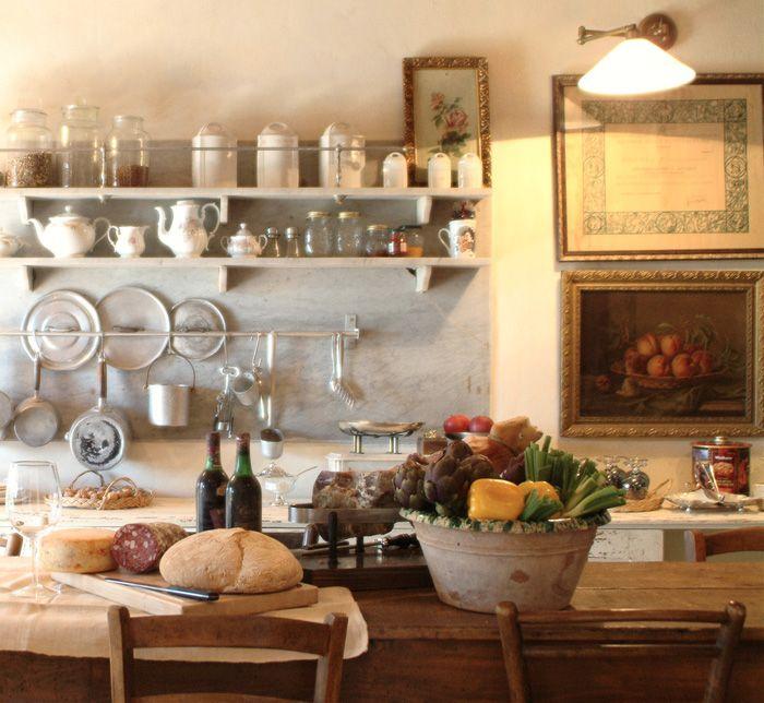 arredamento antico di campagna | ... per sfornare pane di campagna ...