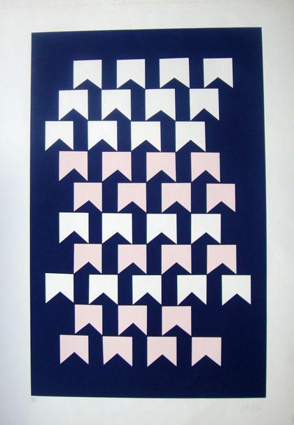 Alfredo Volpi Bandeirinhas 1950 Con Imagenes Obras De Arte
