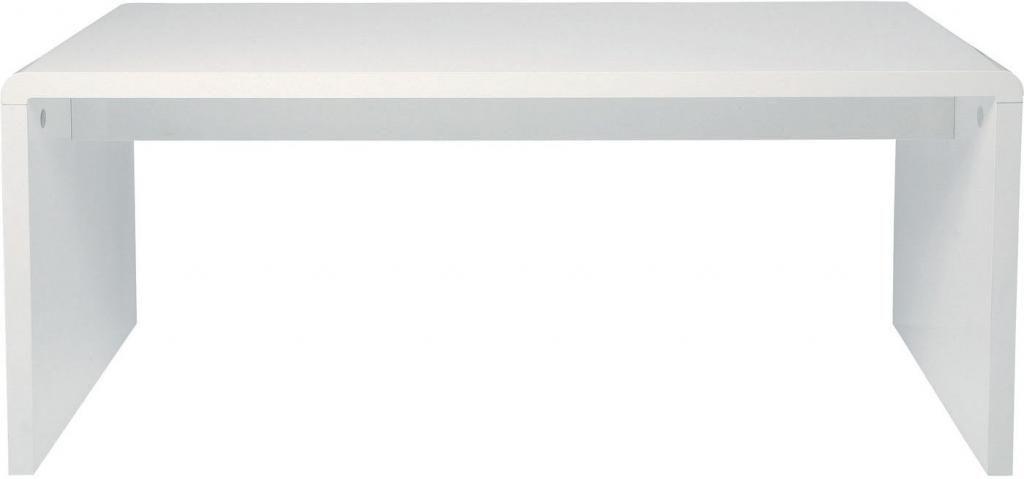 Schreibtisch Club - Hochglanz MDF - Weiß - 180 x 85 cm - Kare Design ...