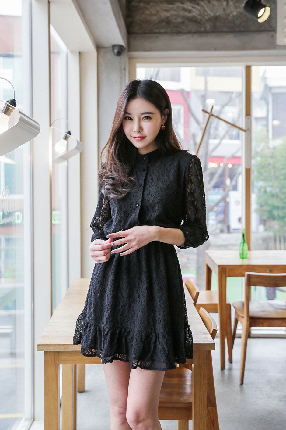Pin by Russell on Korean Dresses  Korean fashion dress, Korean