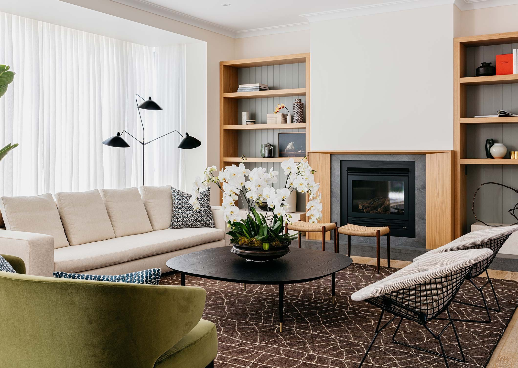 Scandinavisch Interieur Sydney : Sydney house arent pyke sala de estar living room