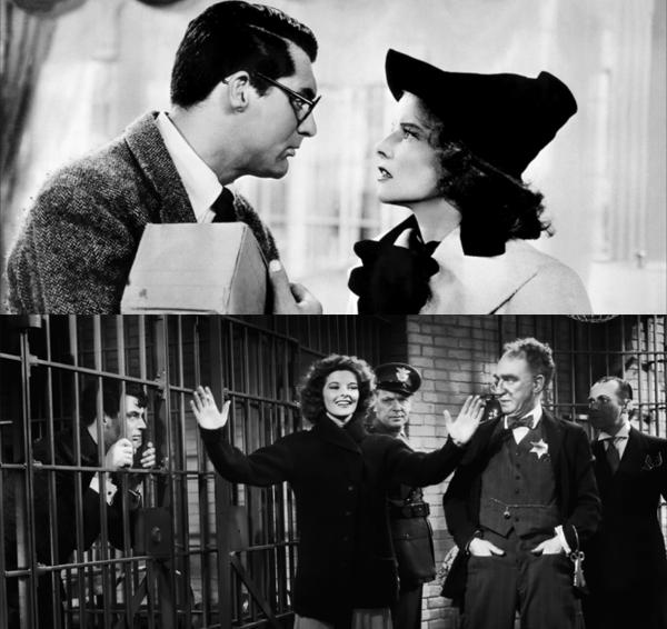 Bringing up Baby 1938. Cary Grant and Katherine Hepburn