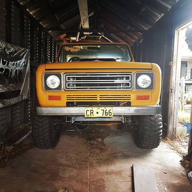 International Scout II #international #internationalscout #internationalscoutII #internationalharvester #scout #345ci  #4x4 #4wd #becausetrucklovinghonkey