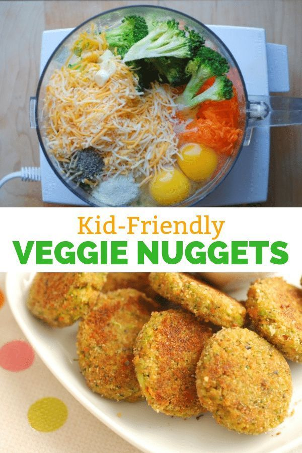 Healthy Veggie Nuggets That Kids LOVE!