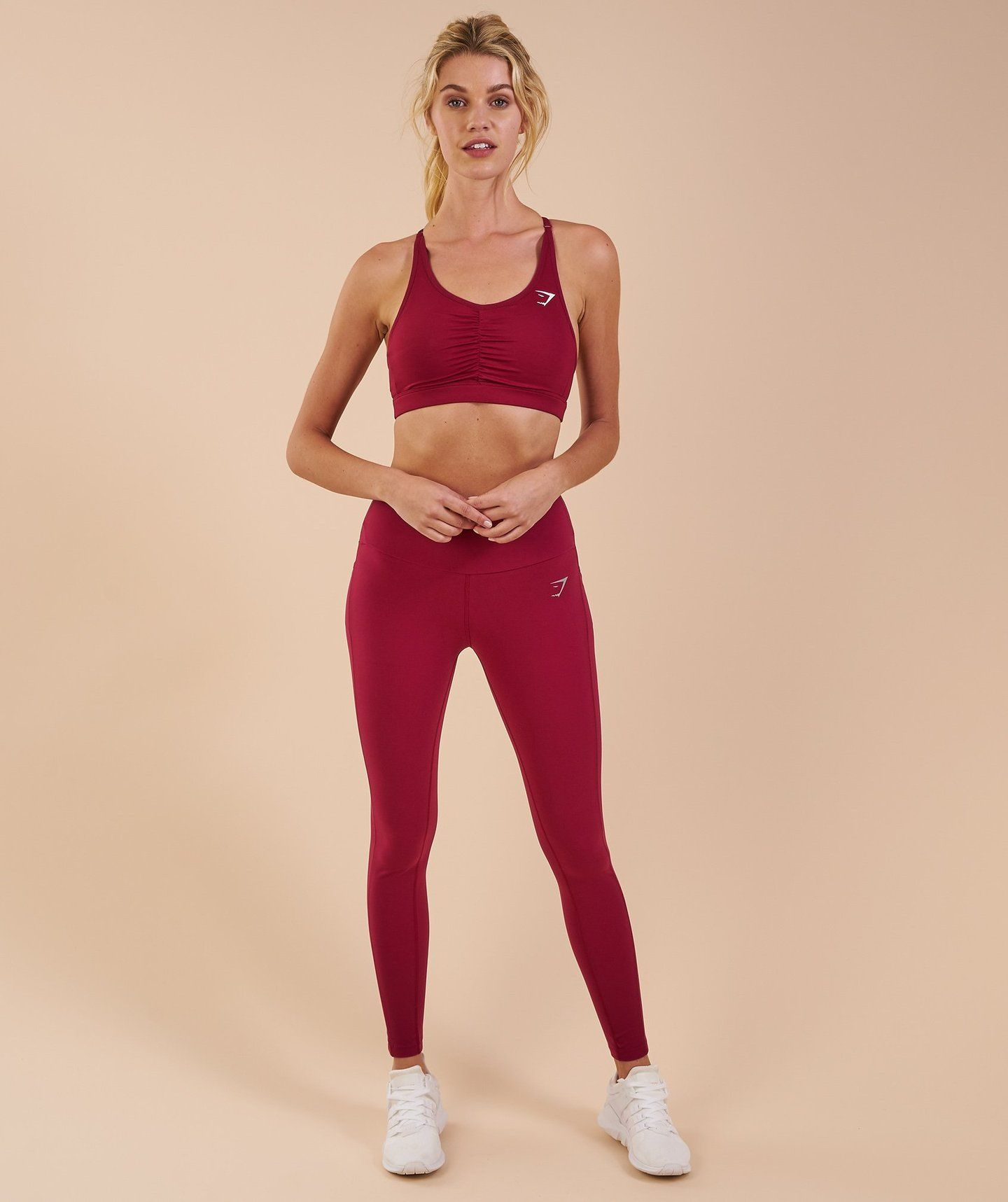 87e7ede1daee72 Gymshark Aspire Leggings - Beet 4 | Exercise outfits | Leggings ...