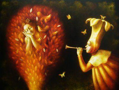 painting Ronald Companoca