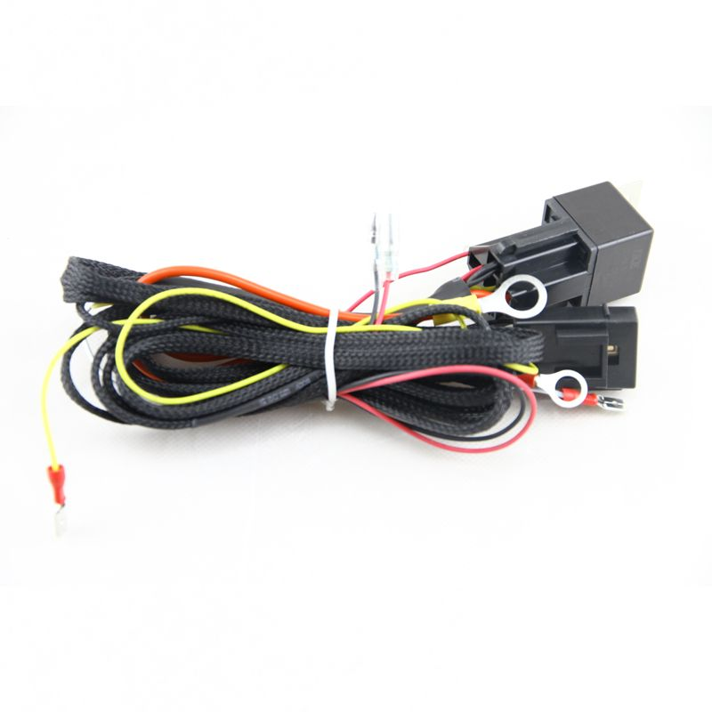 Wire Wiring Harness Fuse Relay Switch For Smd Angel Eyes Headlight Wiring Harness Kit For Bmw E36 E38 E46 E39 Angel Eye Headlights Bmw E36 Car Lights