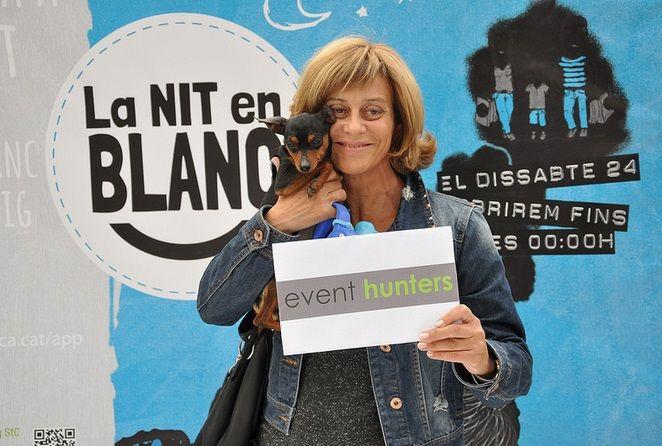 La nit en blanc #eventhunters #bici #bicicleta #bicimupis #eventos #imagen #publicidad #publicidadmovil  #barcelona #santcugat