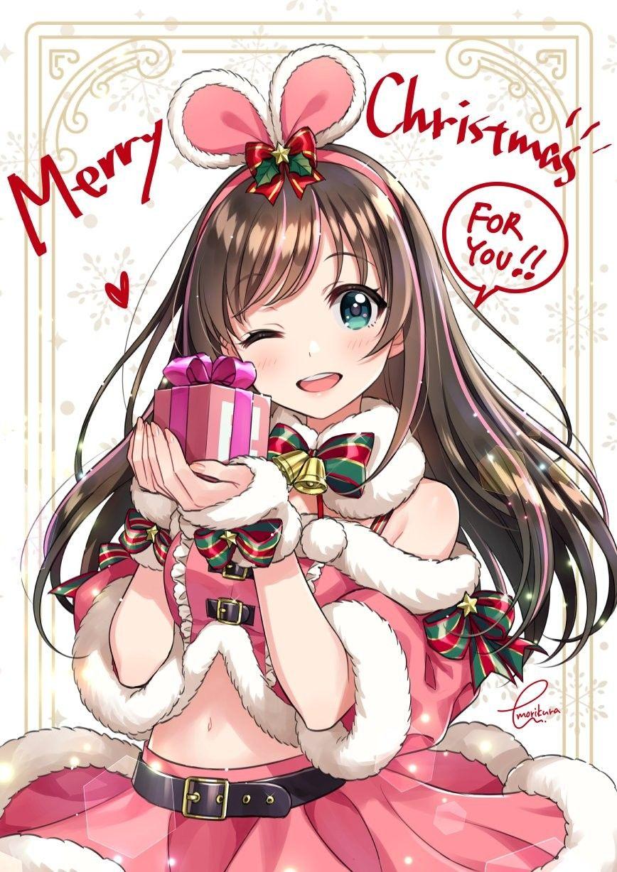 anime おしゃれまとめの人気アイデア pinterest serch lugit かわいいアニメガール イラスト メリークリスマス