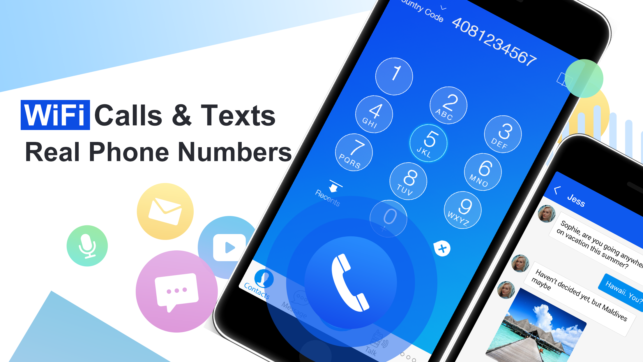 There are millions of phone numbers from different