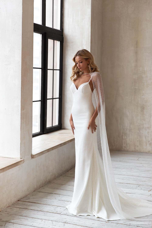 Eva Lendel 2021 Wedding Dresses Weddingbells Minimal Wedding Dress Wedding Dresses Wedding Dresses Simple [ 1500 x 1000 Pixel ]