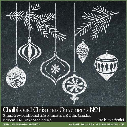 Chalkboard Christmas Ornaments and Days of December Sale at - Weihnachten - #Cha... 12 Tricks