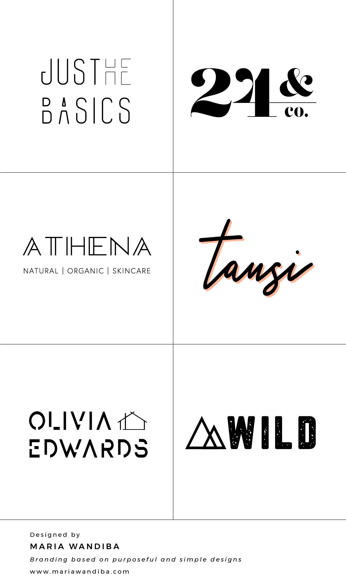 Logo Design By Maria Wandiba Maria Wandiba Design Branding