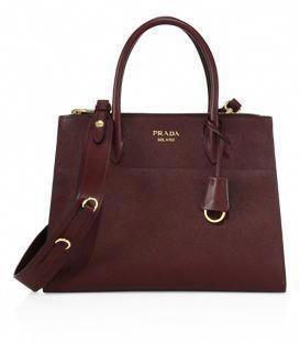 1a4234ec8605 Prada Paradigme Saffiano Leather Tote  Pradahandbags