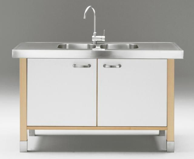 10 Easy Pieces Utility Sinks Remodelista Free Standing Kitchen Sink Free Standing Kitchen Cabinets Freestanding Kitchen