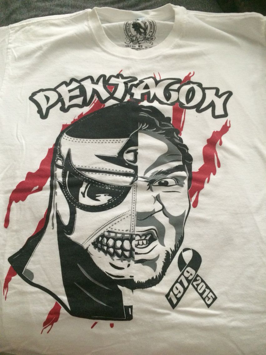 4ad3a21e Pentagon Jr (front) Wrestling Shirts, Lucha Underground, Wwe Tna, Pentagon,