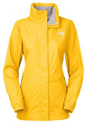 d83790418e The North Face Resolve Parka for Ladies - Freesia Yellow Classic Dot ...