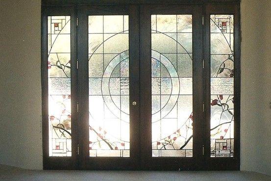 Welcoming Front Doors Stained Glass Door Custom Stained Glass Front Door