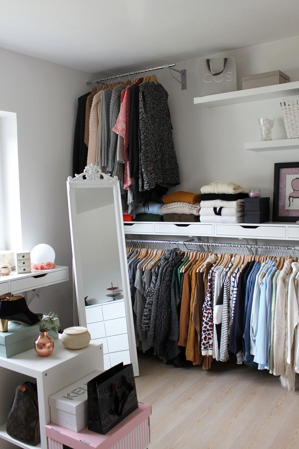 25+ Closet Organization Ideas That Will Make Your Room Look ...
