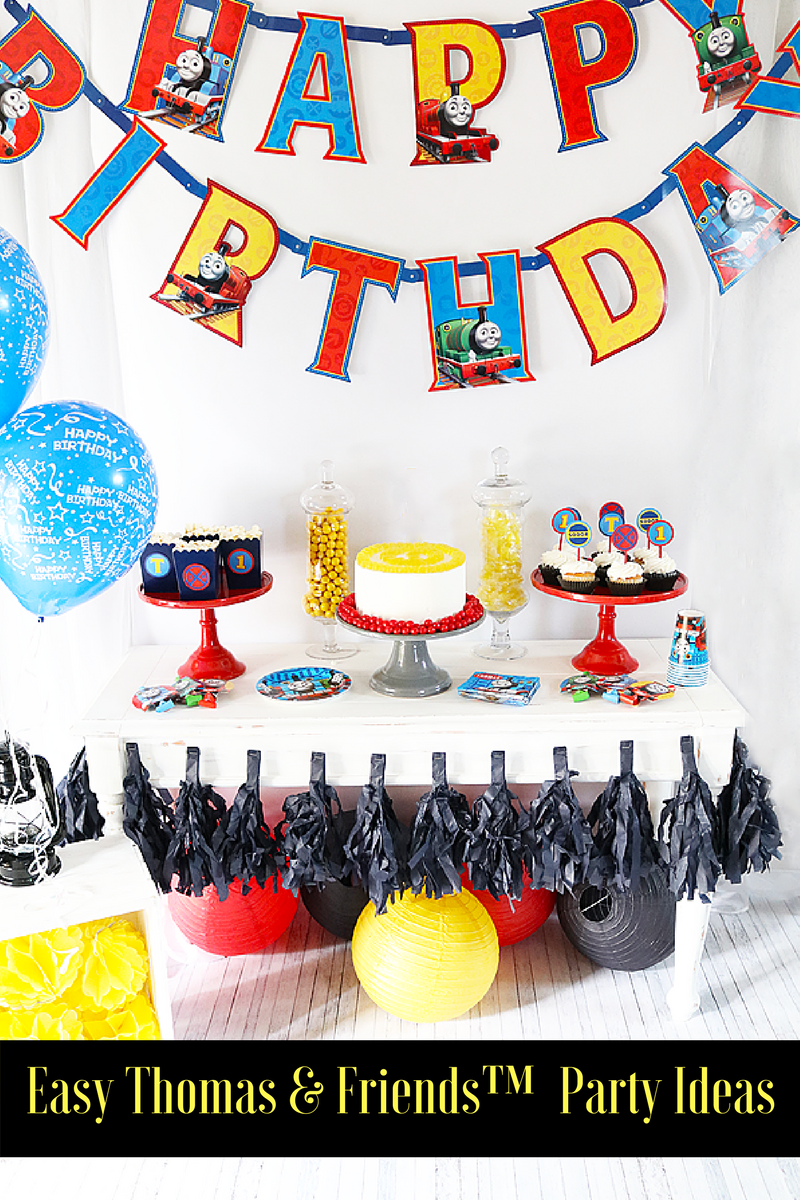 It\'s a Thomas & Friends ™ Birthday Party with Evite ...