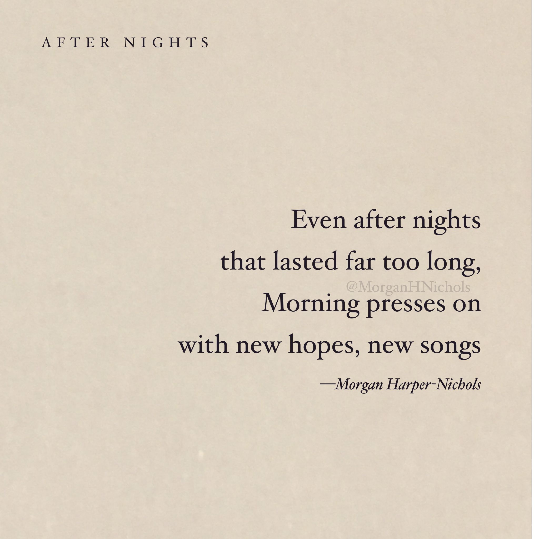 Hope in the morning poetry faith truth thought quote poem positive quotes hope in the morning poetry faith truth thought quote poem morgan harper n voltagebd Gallery