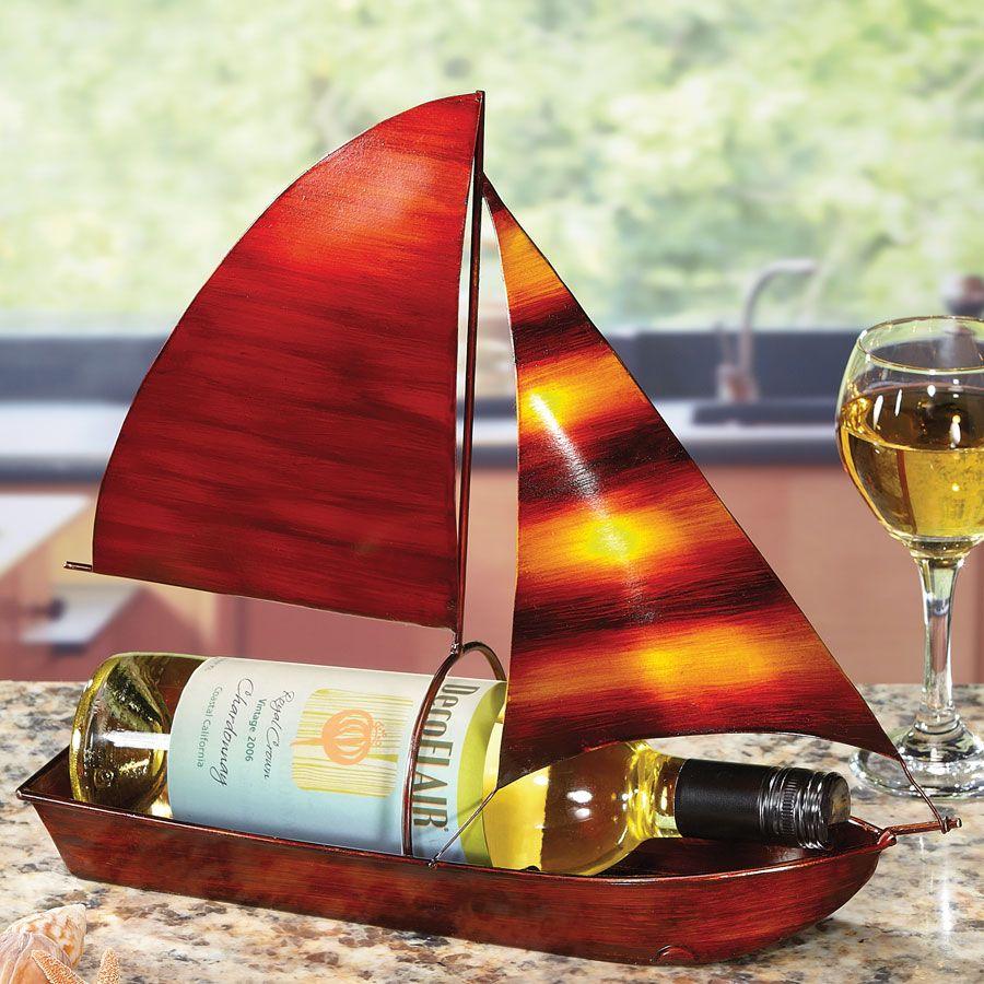 Wine Bottle Holder Sailboat Wine Bottle Wine Bottle Holders Bottle