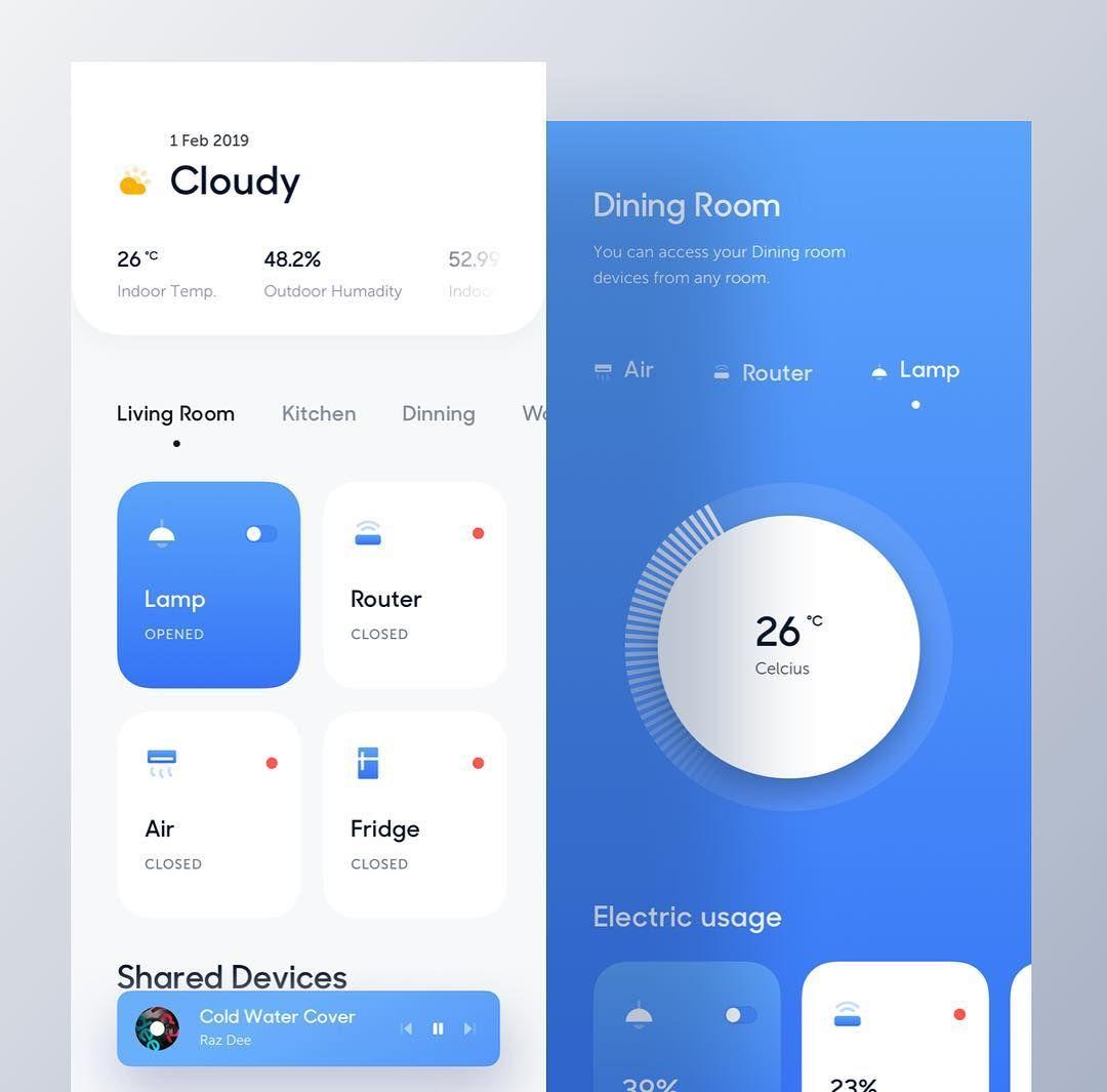 App Di Design mobile ui inspiration에 있는 핀
