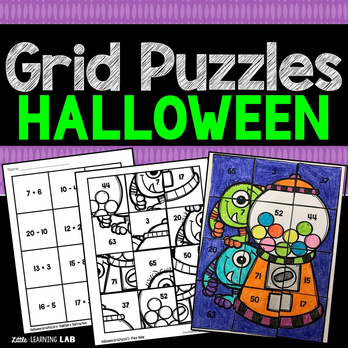 Pin By Little Learning Lab On Halloween Activities