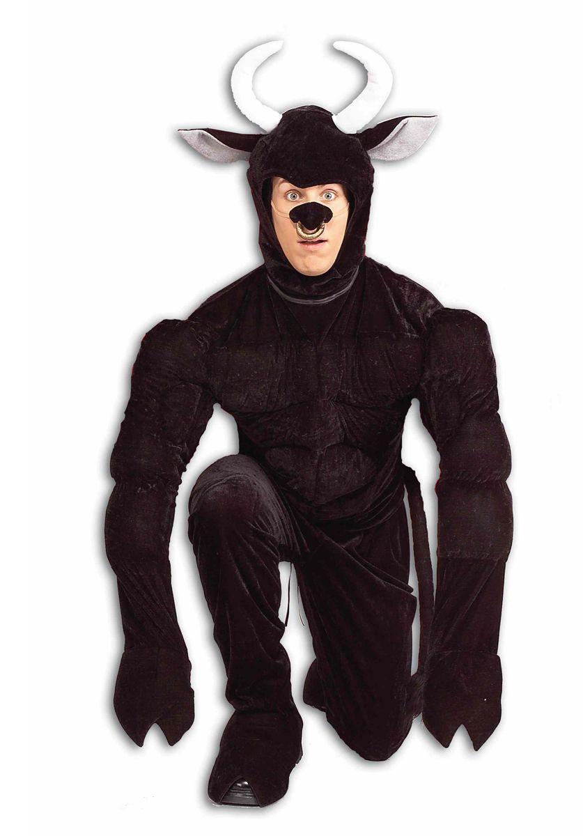 Amazing Toro The Terri Bull Costume   Bestival Fancy Dress