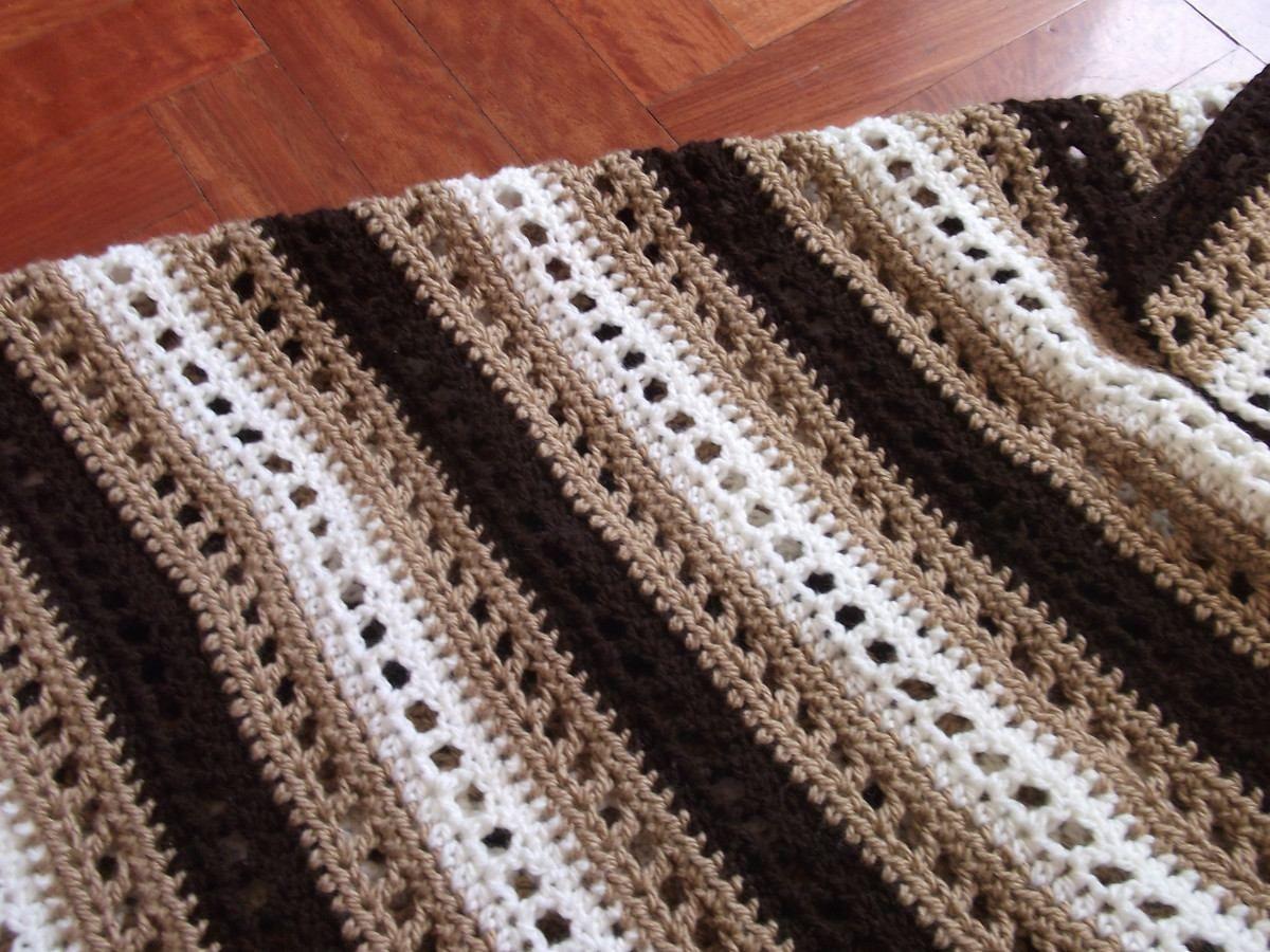 a834b3ae6 Mantas Y Cubrecamas Tejidos A Crochet - $ 1.400,00 en MercadoLibre ...