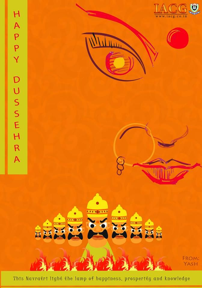 Dussehra greeting cards done by iacg students dusshera greeting dussehra greeting cards done by iacg students greeting cards dussehra greetings student calander m4hsunfo