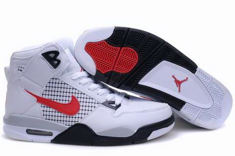 Black · New Air Jordan 4 High State Combination White Black Red · Men's Nike  ...