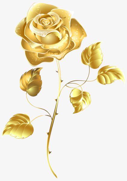 A Rose Gold Color Flower Art Rose Clipart Rose Gold Wallpaper