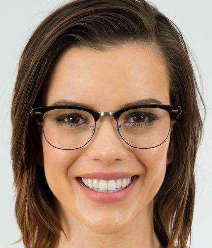 2a15be80e2 Ray-Ban RX5154 Clubmaster Eyeglasses  Browline Classic