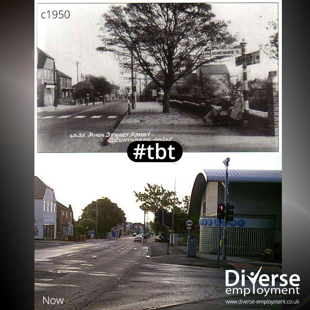 THROWBACK THURSDAY Then & Now, a little trip down memory