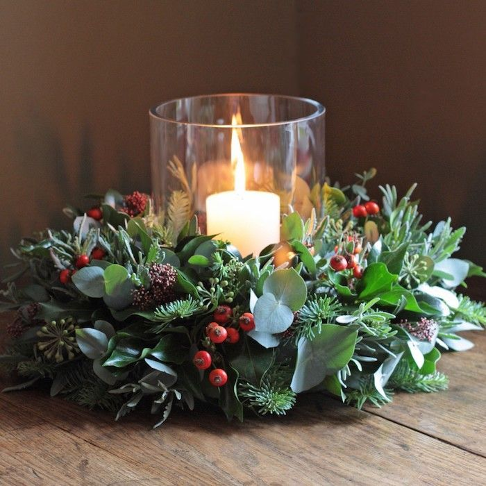 1001 ideen f r weihnachtsgestecke zum basteln kr nze selber machen weihnachtsgestecke. Black Bedroom Furniture Sets. Home Design Ideas