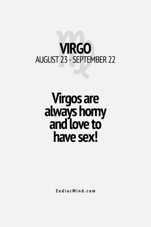 Sex with virgo men