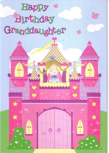 Glitter Happy Birthday Granddaughter